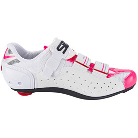 Sidi Genius 7 Shoes Women White/Pink Fluo